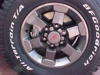 FJ Cruiser TRD Alloy Wheel 2007 Model 16 Inch Gunmetal Gray Special Edition Vehicle Only